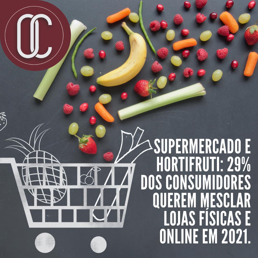Supermercado e hortifruti_ 29% dos consumidores querem mesclar lojas físicas e online em 2021